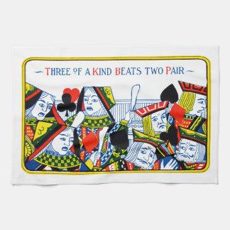 Tres de una clase toallas de cocina