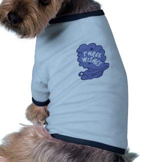 Tres deseos ropa perro