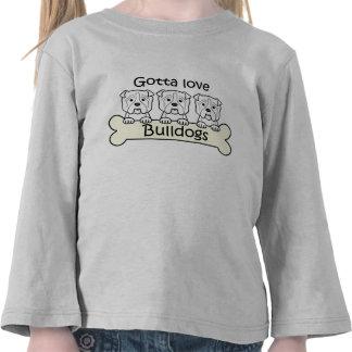 Tres dogos camisetas