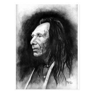 Tres Eagles Nez-Perce Tarjetas Postales
