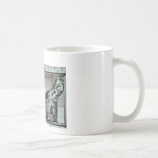 Tres elefantes taza clásica