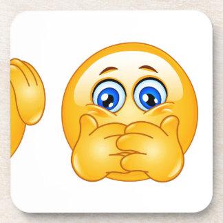 tres emojis sabios posavaso