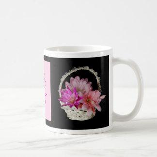 Tres Epiphyllums a la taza del personalizable de l