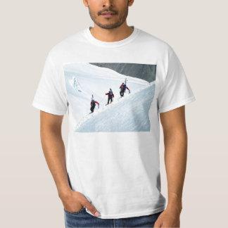 Tres escaladores, Mont Blanc Poleras