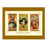 Tres etiquetas Virginia del cigarro del vintage Postales