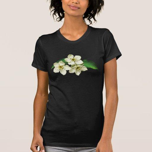 Tres flores de Apple Camiseta