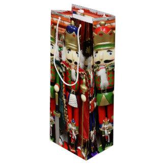 Tres galletas sabias - soldados del cascanueces bolsa de regalo para vino