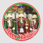 Tres galletas sabias - soldados del cascanueces pegatinas