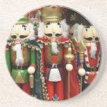 Tres galletas sabias - soldados del cascanueces posavasos para bebidas