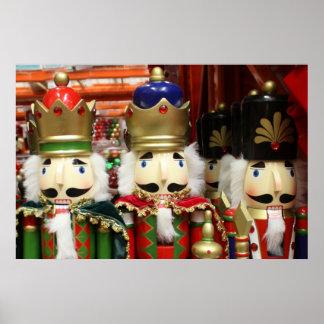 Tres galletas sabias - soldados del cascanueces póster