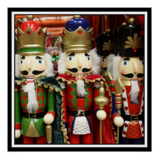 Tres galletas sabias - soldados del cascanueces perfect poster