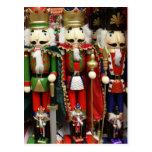 Tres galletas sabias - soldados del cascanueces postal