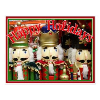Tres galletas sabias - soldados del cascanueces tarjetas postales