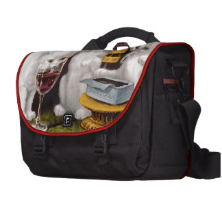 Tres gatitos alegres bolsas para portatil