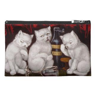 Tres gatos blancos después del banquete - bolso