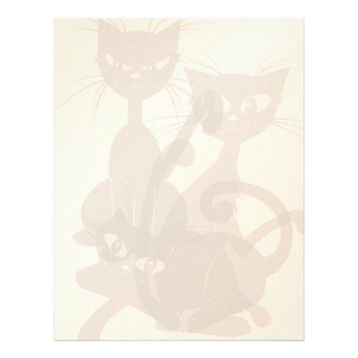 Tres gatos negros letterhead_vertical membrete