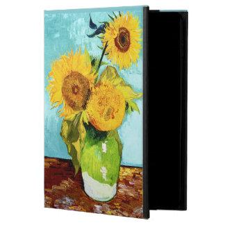 Tres girasoles por la bella arte de Van Gogh