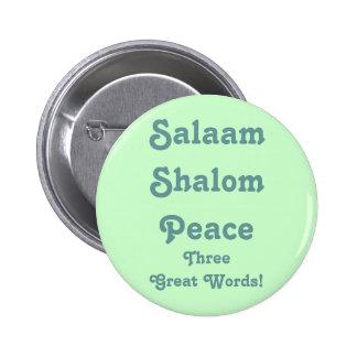 ¡Tres grandes palabras! Botón Pin Redondo De 2 Pulgadas