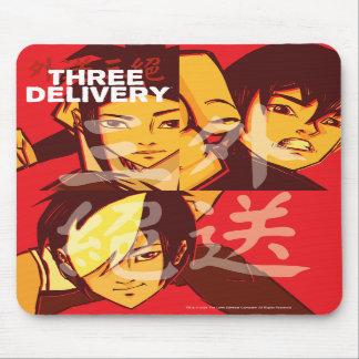 Tres grupos Mousepad de Delivery™