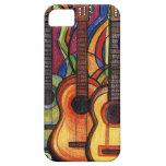 Tres guitarras iPhone 5 protectores