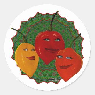 Tres Habaneras Classic Round Sticker