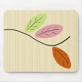 Tres hojas Mousepad