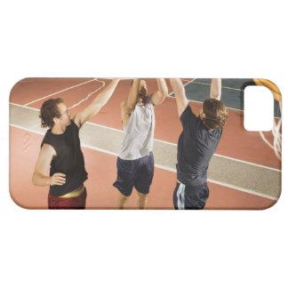 tres hombres en jugar atlético de la ropa funda para iPhone SE/5/5s
