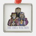 Tres hombres sabios adorno de reyes