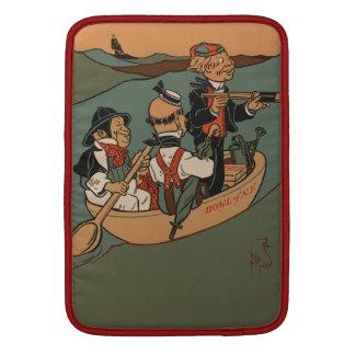 Tres hombres sabios de Gotham Funda Para Macbook Air