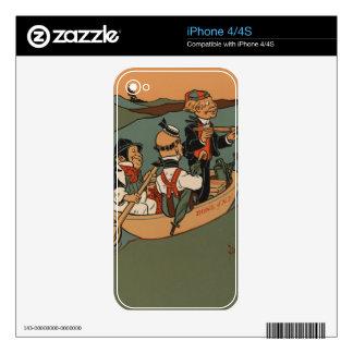 Tres hombres sabios de Gotham Skin Para El iPhone 4