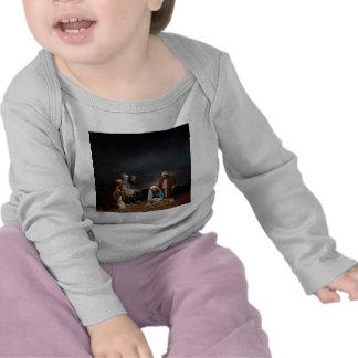 Tres hombres sabios en la natividad camiseta