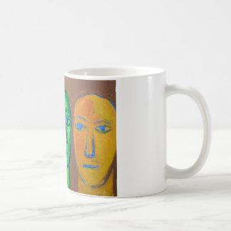 Tres hombres sabios (expresionismo del retrato) taza clásica