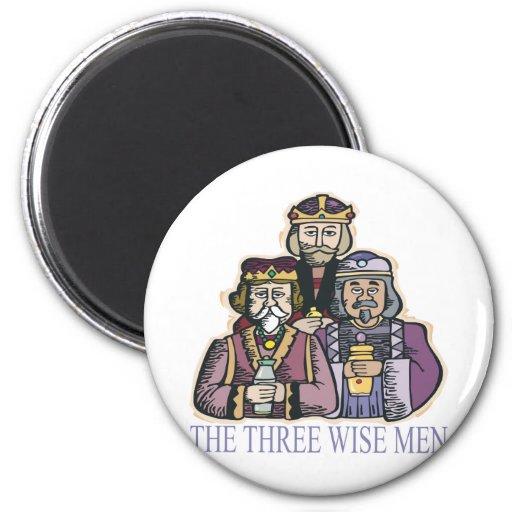 Tres hombres sabios iman