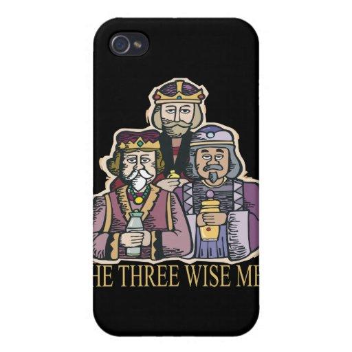 Tres hombres sabios iPhone 4/4S funda