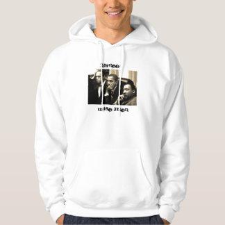 Tres hombres sabios jersey con capucha