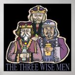 Tres hombres sabios poster