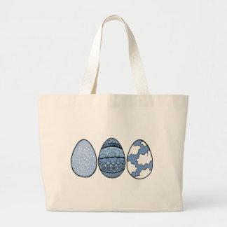 Tres huevos azules bolsa