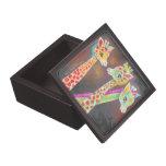 Tres jirafas cajas de regalo de calidad
