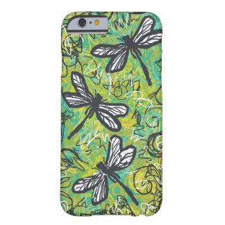 Tres libélulas, caso del arte para el caso del funda de iPhone 6 barely there