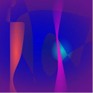 Tres líneas resumen la composición con el Shading
