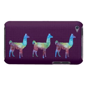 Tres llamas de Colorwashed iPod Touch Case-Mate Carcasas