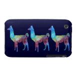 Tres llamas de Colorwashed iPhone 3 Protector