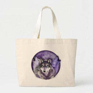 Tres lobos bolsa tela grande