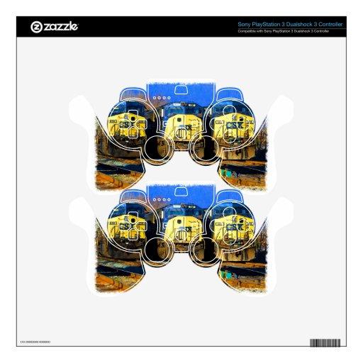 Tres locomotoras diesel mando PS3 skin