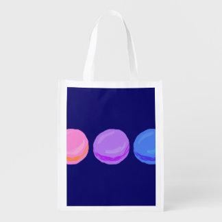 Tres Macarons Bolsa Reutilizable