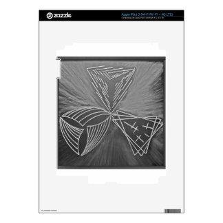 Tres maneras pegatina skin para iPad 3