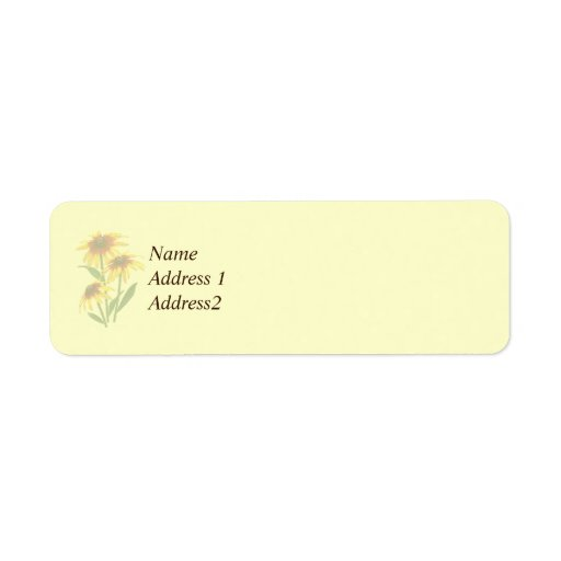Tres margaritas de Shasta ahorran la fecha Etiqueta De Remite
