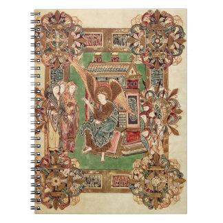 Tres Maries en el sepulcro del Benedictio Cuadernos