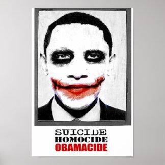Tres marionetas - Obama Reid Pelosi Poster