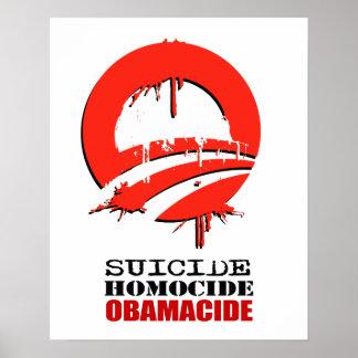 Tres marionetas - Obama Reid Pelosi Póster